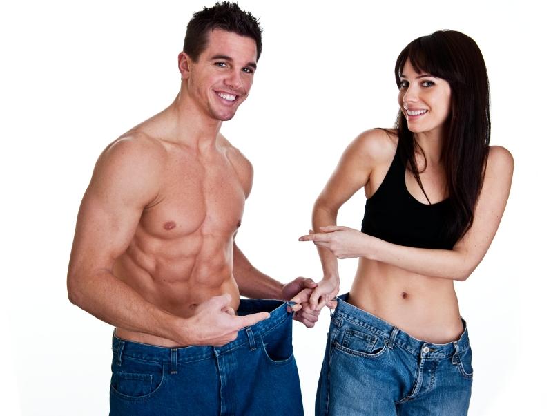 Casal com Grande Perda de Peso