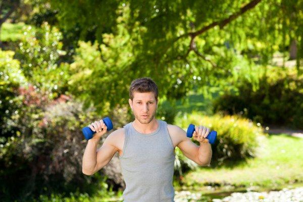 Homem se Exercitando