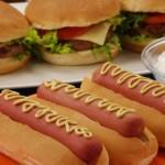 Hot dog e Hamburguer
