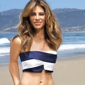 Jillian na praia