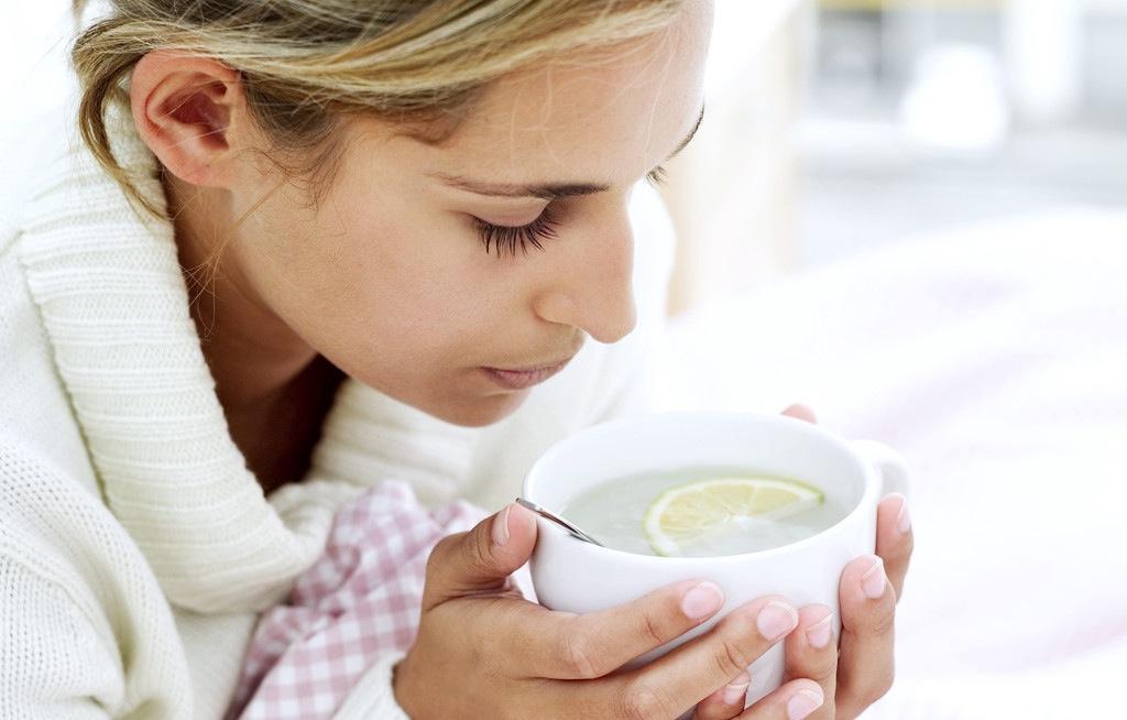 Chá para pessoa doente