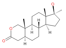 Oxandrolone_Structure