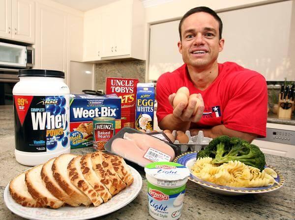 Comidas para massa muscular