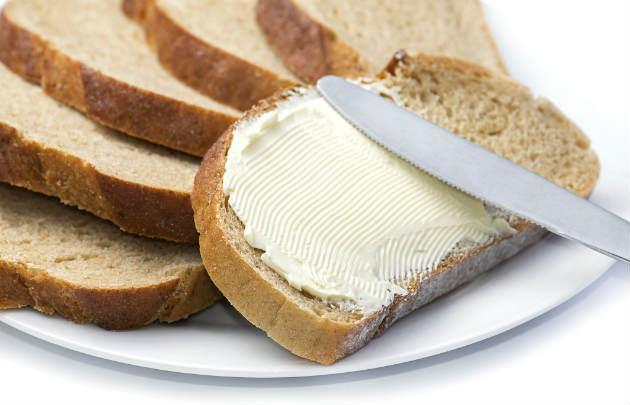 Margarina no pão