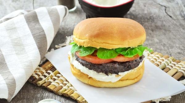 Hambúrguer de feijão