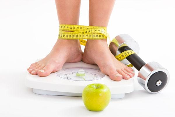 Itens da perda de peso