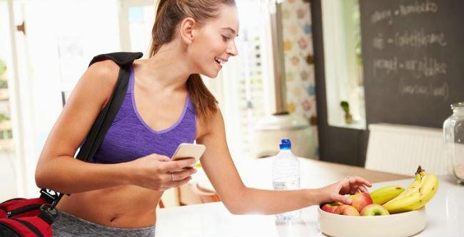 Comer antes do exercício