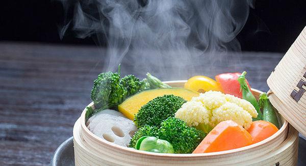 Legumes no vapor