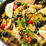 8 Receitas de Paella Vegana Light