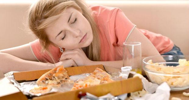 Dormir depois de comer