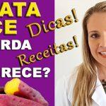 [Video] A Batata Doce é Boa para Dieta? Dicas e Receitas