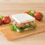 Receita de sanduíche de ricota com atum low carb