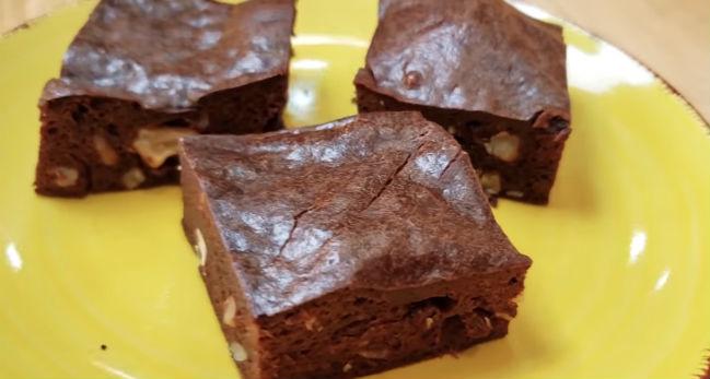 Brownie low carb