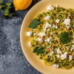 Receita de macarrão de abobrinha low carb, delicioso e saudável