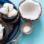 Receita de sorvete de coco low carb