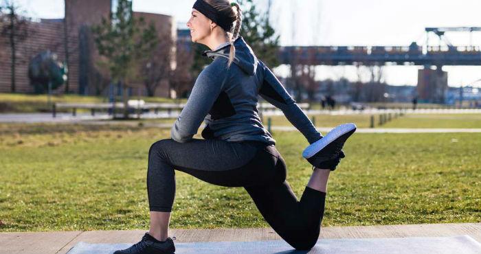 Alongamento para quadríceps
