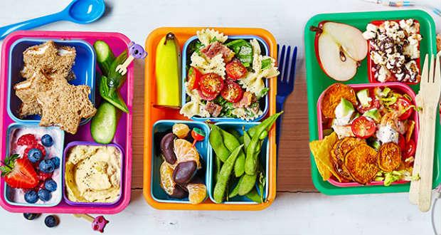 Lanche saudável escola