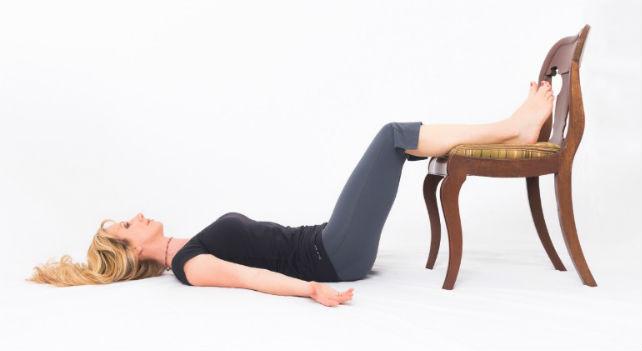 Elevação de quadril na cadeira