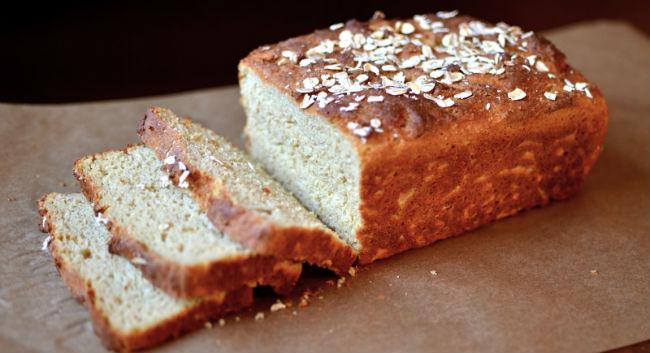 Pão de aveia fit