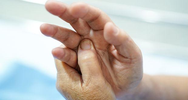 Dormência nas mãos