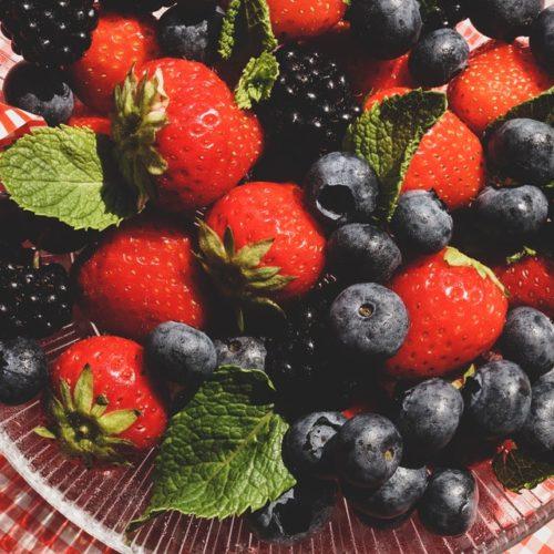 Frutas de baixo índice glicêmico