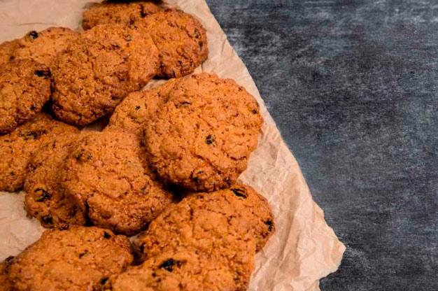 cookie com pasta de amendoim
