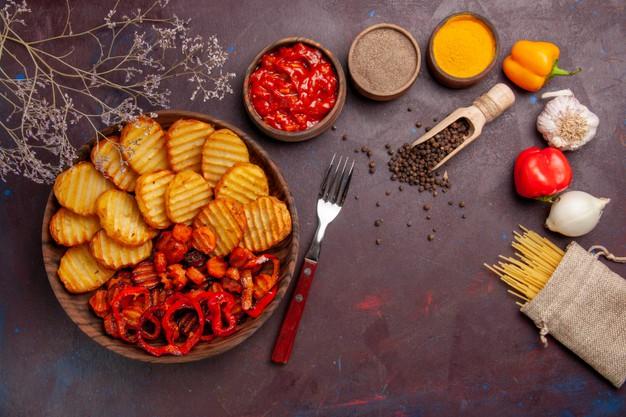 batata-doce na airfryer