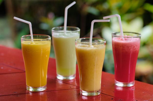 sucos de fruta